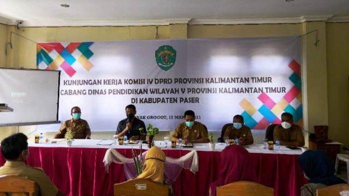 Pastikan Kesiapan PPDB SMA/SMK Paser, Komisi IV Hearing dengan para Kepala Sekolah