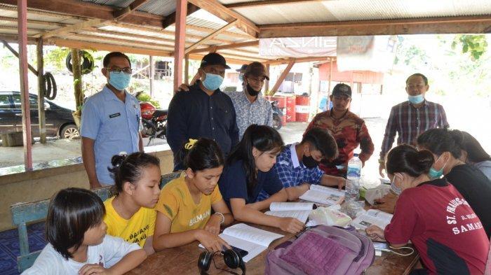 Komisi IV DPRD Kukar Dengar Langsung Keluh Kesah Pelajar Terkait KBM Daring Kala Pandemi Covid-19