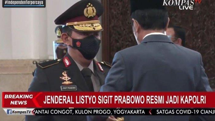 Biodata dan Profil Kapolri Listyo Sigit Prabowo, Satu Anak Karyawan Bank, Tak Satupun Jadi Polisi