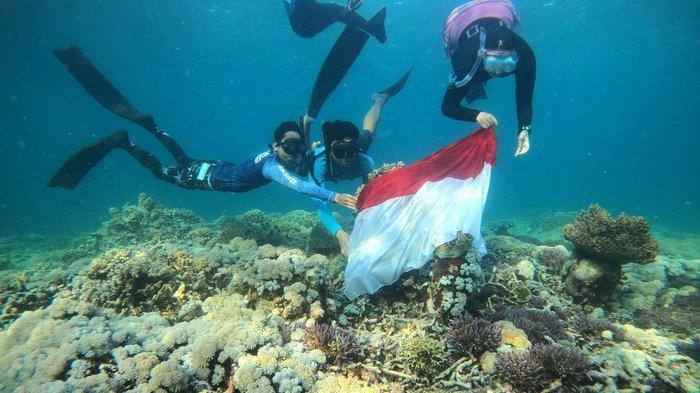 Hari Laut Sedunia 8 Juni 2021, Cinta Laut Freediver Balikpapan Salurkan Hobi Menyelam Bebas