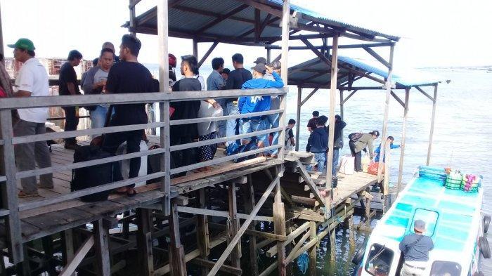 Pagi ini Speed Boat Reguler di Pelabuhan Tengkayu I Tarakan Masih Mogok Berlayar
