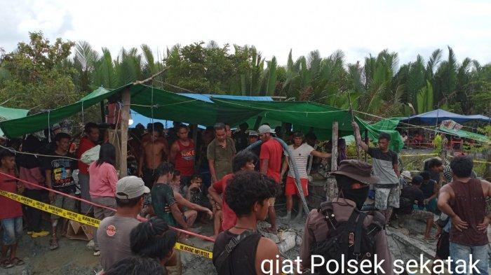 BREAKING NEWS Tambang Emas Sekatak Kaltara Telan Korban, 5 Penambang Dilaporkan Tertimbun
