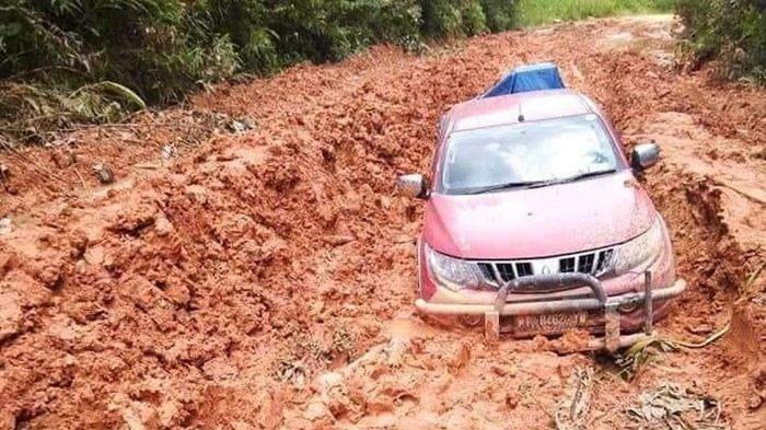 Jalan 6 Kecamatan di Kutim Rusak Parah, Safuad Minta Pemerintah Segera Tindak Lanjuti Keluhan Warga