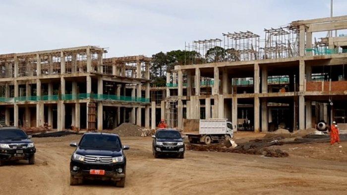 Pembangunan Sudah 60 Persen, 3 Gedung Perkantoran di Mahulu Ditarget Rampung Juni 2021