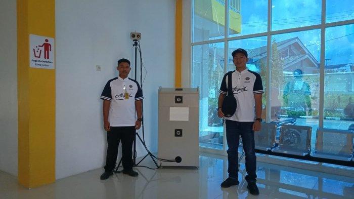 Cegah Virus Corona, Dinas Kesehatan Kalimantan Utara Juga Gunakan Thermometer Infrared