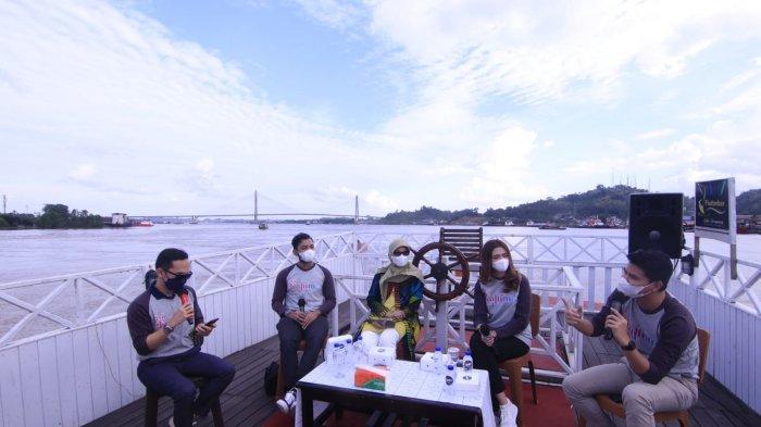 Mengenal Kapal Wisata Queen Orca Houseboat Samarinda, Bisa Menikmati Alam Danau