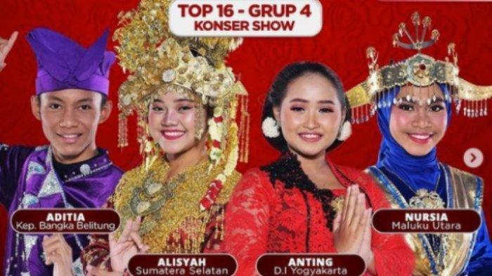Konser Show LIDA 2021 Top 16 Grup 4, Anting 5 SO, Polling Sementara, Siapa Terancam Tersenggol?