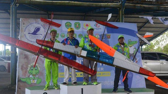 Cabor Aeromodeling Balikpapan Sukses Raih 8 Emas di Porprov Kaltim 2018