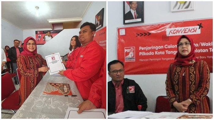 Nur Azizah Putri KH Maruf Amin Ikut Konvensi Calon Walikota Tangsel di PSI, Begini Alasannya