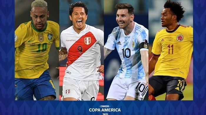 Jadwal Siaran Langsung Semifinal Copa America 2021: Skenario Brasil Jumpa Argentina di Final