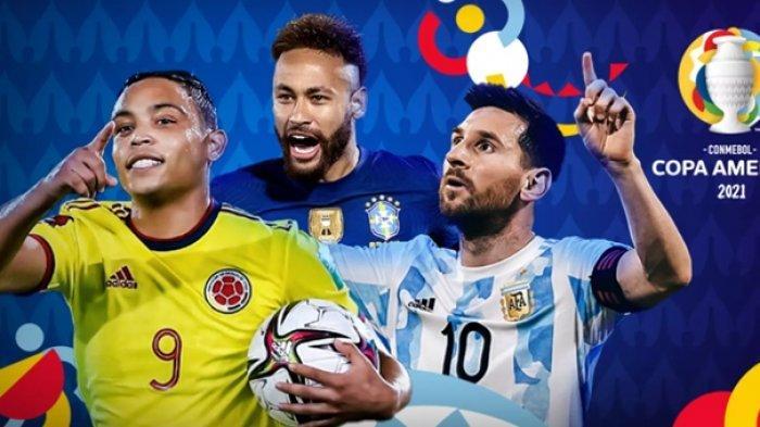 Klasemen & Jadwal Copa America 2021, Laga Sulit Bagi Brasil dan Argentina, Link Streaming Indosiar