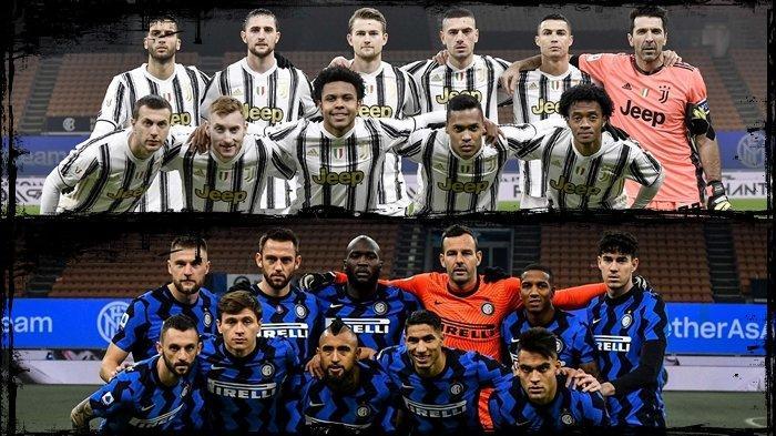 Live TVRI Semifinal Coppa Italia Malam Ini, Juventus vs Inter Milan, Conte Siapkan Taktik Kejutan