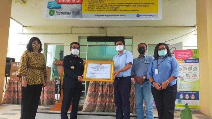 KPC dan Kontraktor Sumbang Alkes untuk RSUD Kudungga, Sudah Rp 11,3 M Bantu Atasi Pandemi di Kutim