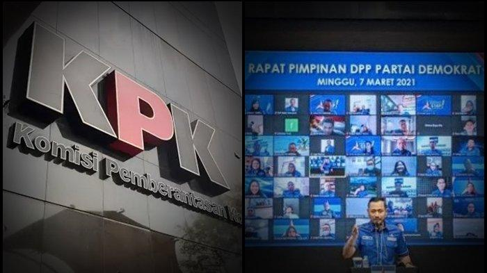 Ini Sikap KPK Usai Didesak Partai Demokrat Versi KLB Moeldoko, Max Sopacua Minta SBY & Ibas Bersaksi