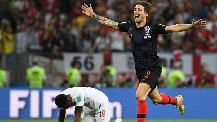 Hasil Akhir Kroasia vs Inggris di Semifinal Piala Dunia 2018, Timnas Kroasia Melaju ke Final