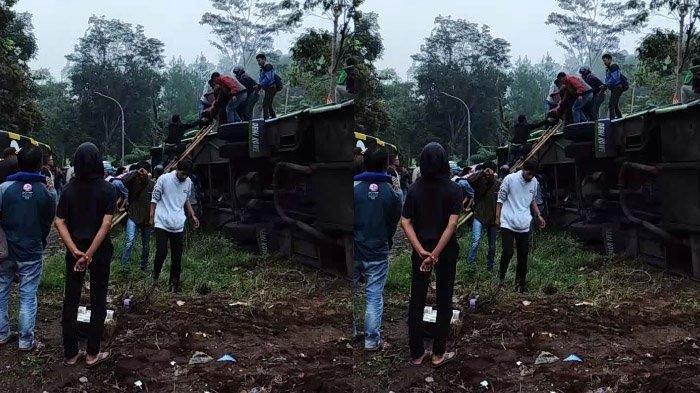 Kronologi Detik-detik Kecelakaan Maut di Ciater Subang, Bus Pariwisata Terguling, 8 Orang Tewas