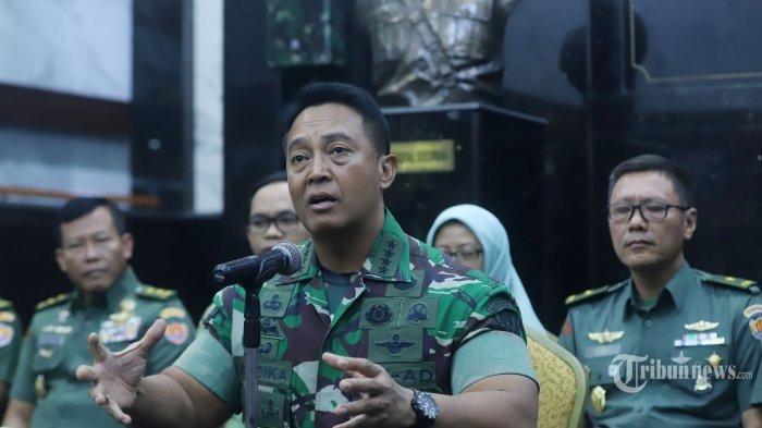 ANDAI Jadi Panglima TNI, Usia KSAD Andika Perkasa Disorot Legislator PDIP: Masa Jabatannya Singkat