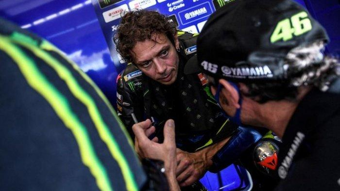 Kualifikasi MotoGP Emilia Romagna 2020 Malam Ini, Terseok di FP 1 dan FP 2, Valentino Rossi: Sulit