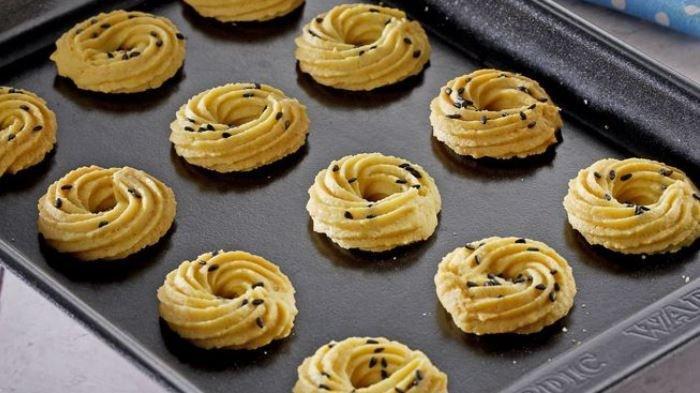 Cara Bikin Semprit Durian Wijen Harum dan Enak Banget, Jadi Kue Kering Sajian Lebaran