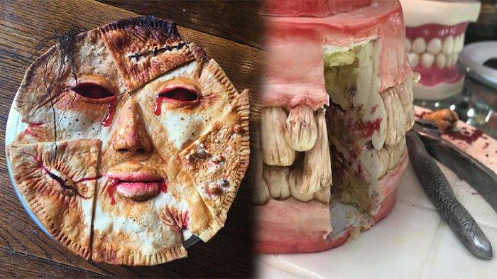 Bukannya Disajikan Menarik, Kue Serba Manis Ini Justru Bentuknya Mengerikan, Berani Coba?