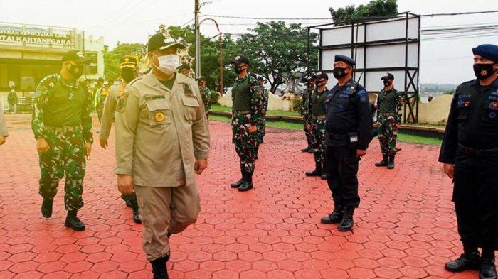 Bupati Kukar Edi Damansyah Pimpin Apel Gelar Pasukan Pengamanan Paskah