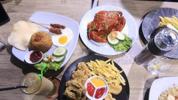 Nikmati Lezatnya Kepiting Banana Cafe N Resto Seraya Memandang Hamparan Kota Samarinda & Live Music