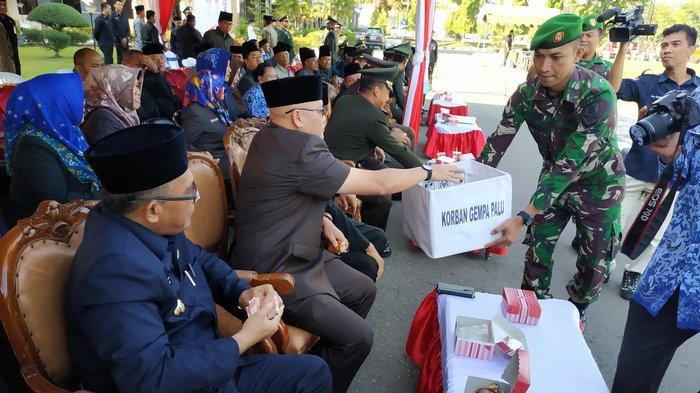 Hari Kesaktian Pancasila, Warga Berau Galang Dana untuk Korban Gempa Bumi di Palu dan Donggala