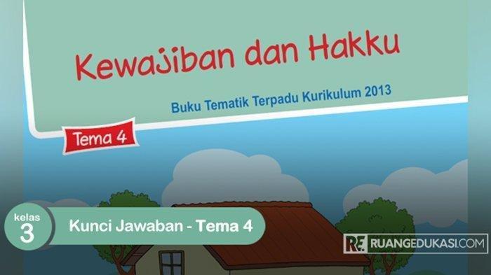 KUNCI JAWABAN Tema 4 Kelas 3 Halaman 160 dan 161, Subtema: Kewajiban & Hakku Sebagai Warga Negara
