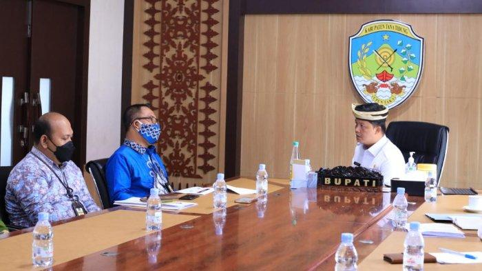 Kepala KPP Pratama Tanjung Redeb Kabupaten Berau Sambangi Bupati KTT, Ini yang Dibahas
