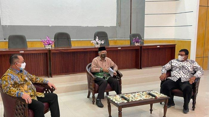 Pemkab Mahulu Audiensi dengan Kepala LL Dikti XI Kalimantan Bahas Rencana Pembangunan Politeknik