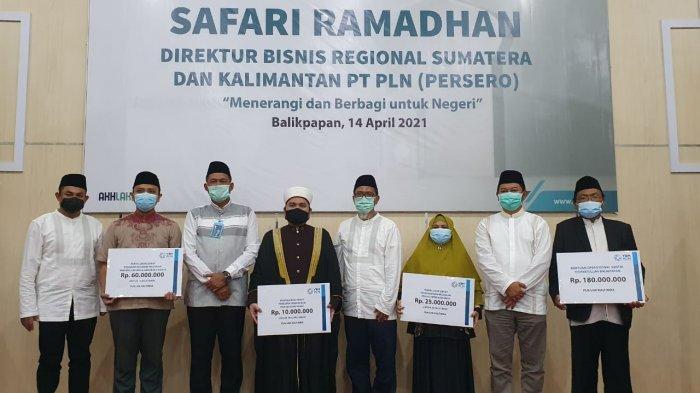 Safari Ramadhan 2021, Direksi PLN Resmikan 20 Listrik Desa dan Salurkan Bantuan