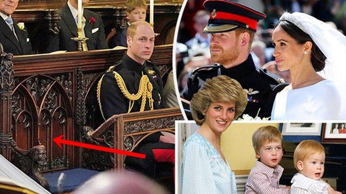 Benarkah Pangeran Harry Siapkan untuk Lady Diana? Ini Misteri di Balik Kursi Kosong Royal Wedding