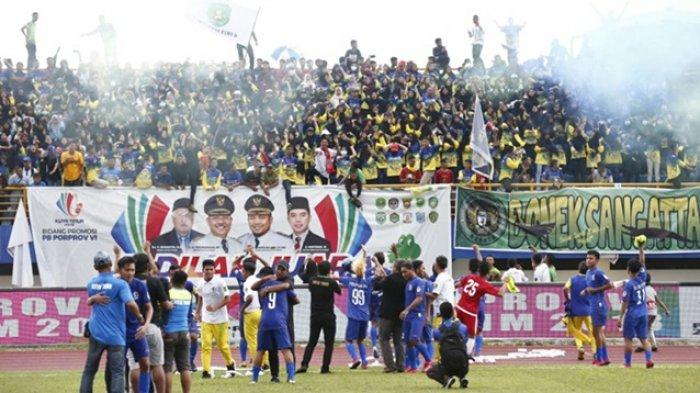 Tekuk Kutai Kartanegara, Kutai Timur Juara Cabor Sepak Bola Porprov Kaltim 2018