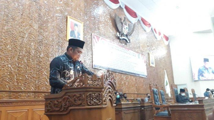 DPRD Kutim Setuju Raperda Perumda Air Minum Tirta Tuah Benua dan Bantuan Hukum Warga Miskin