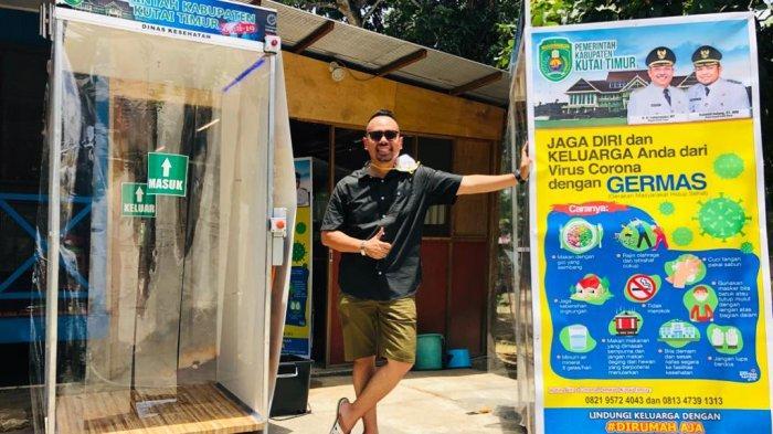 Pandemi Virus Corona, Pemuda Kutim Kalimantan Timur Berhasil Ciptakan Alat Desinfektan