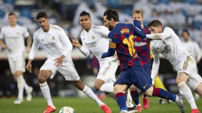 SERU! TONTON Live Streaming Barcelona vs Real Madrid Hari Ini, Jam Kick Off Barcelona vs Real Madrid