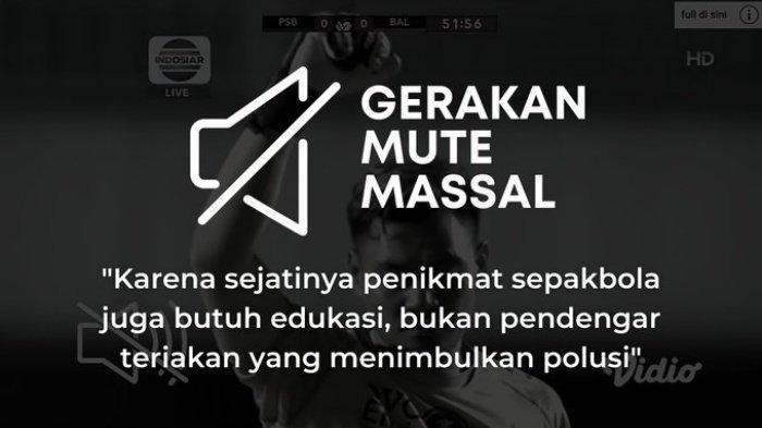 Trending #GerakanMuteMassal di Laga Piala Menpora 2021, PSS vs Bali United, Sindir Radot Valent