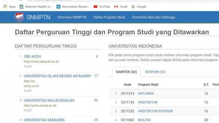 Pendaftaran SNMPTN 2020: Jangan Sampai Gagal Gara-gara Salah Input Data Ekonomi, Lihat Imbauan LTMPT