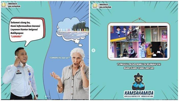 Kantor Imigrasi Balikpapan Luncurkan LAMARU, Inovasi Pengantaran Paspor untuk Usia Lanjut
