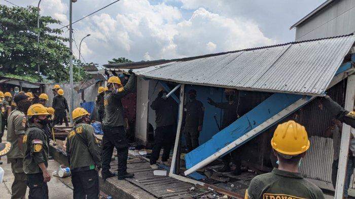 Pembongkaran Kios di Gang Ahim Samarinda, Pemkot Telah Beri Biaya Mandiri