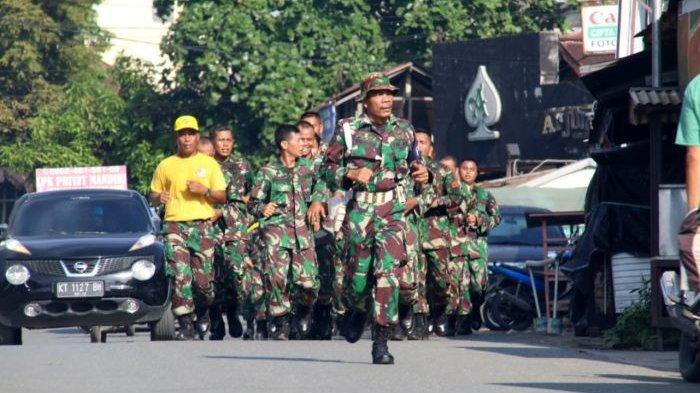 Minggu Militer di Korem 091 Aji Surya Natakesuma, Prajurit Tempuh Lari Sepanjang 5,3 Km