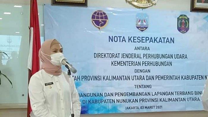 Pembangunan Lapangan Terbang Binuang di Nunukan, Bupati Asmin Laura: Ini Komitmen Presiden Jokowi