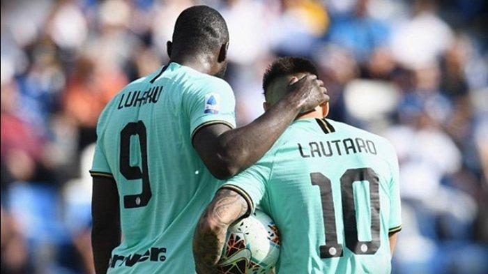 Barcelona & Juara Liga Inggris Rebutan Penyerang Inter Milan, Reaksi Tak Terduga Lautaro Martinez