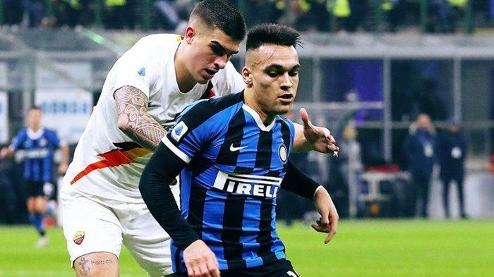 Babak Pertama Live Streaming RCTI Inter Milan vs AS Roma, Sudah Dua Pemain Ditarik Keluar, Skor 0-0