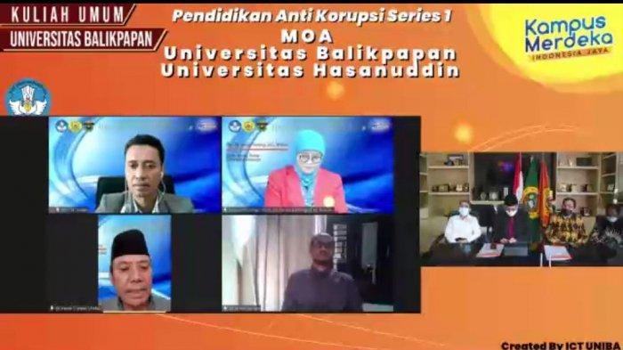 Gelar Kuliah Umum, Uniba Gandeng Unhas Jadi Ujung Tombak Pendidikan Anti Korupsi di Indonesia Timur