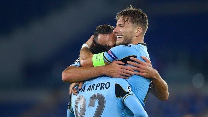 Hasil Liga Champions - Lazio vs Dortmund 3-1, Immobile ...