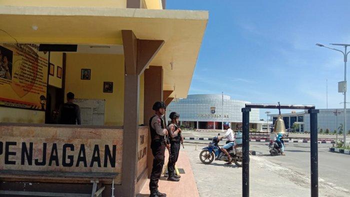 Ledakan Bom Bunuh Diri di Polrestabes Medan, Mapolda Kalimantan Utara Perketat Pos Penjagaan