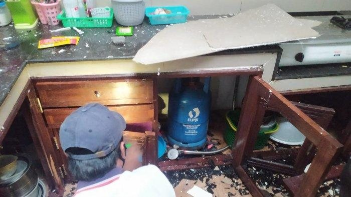 Ledakan Hebat Terjadi dari Sebuah Toko di Samarinda, Gegana Brimob Polda Kaltim Turun ke TKP