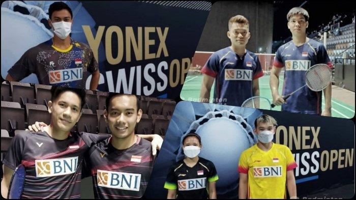 LENGKAP Hasil Swiss Open 2021 - Vito Raih Kemenangan di Hari Ulang Tahun, 4 Wakil ke Babak Kedua