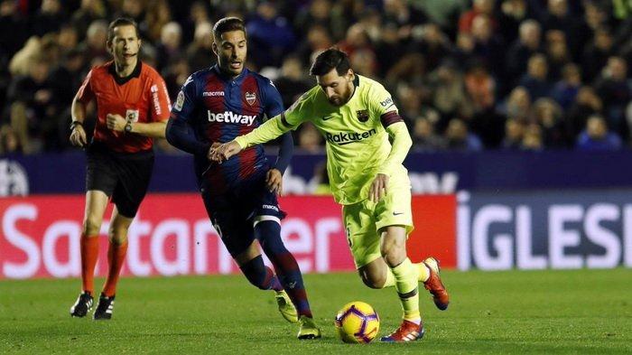 Levante vs Barcelona - Babak 16 Besar Copa del Rey, Barca Tertinggal 2-0 Sejak Babak Pertama